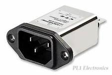 Schaffner fn284-4-06 Netzfilter 250 V AC 4 A IEC Inlet-Filtre Fuse Commutateur 855207