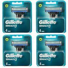 Gillette Mach3 Lames De Rasoir 4 X 4 (16 Recharges)