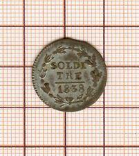 Suisse Ticino  3 soldi 1838