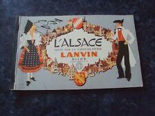 L'ALSACE édité par la chocolaterie LANVIN  (album série n° 6), (sans images)