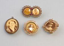 Jewellery Bildbroschen u Pendant 8325340 4 Pieces Antique