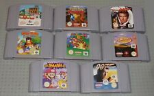 NINTENDO 64 N64 Games. PAL, Choose - Smash Bros, Mario, Pokémon, Diddy Kong etc