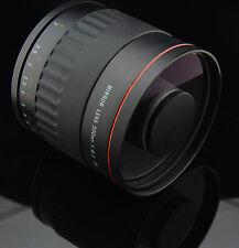500mm f/6.3 Mirror Manual Lens For SONY A58 A77 A100 A200 A300 A350 A700 A850