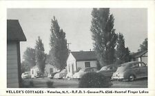 A View of Weller's Cottages, 40's Autos, Waterloo NY