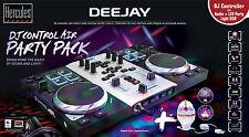 Hercules DJControl Air S Party Pack - DJ Controller & LED USB Party Light