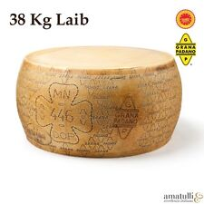 Grana Padano D.O.P - Ganzer Laib ca. 38 kg - Italienischer Käse - Spezialität