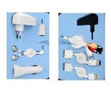 Adapter KFZ Ladegerät USB Lade Daten Kabel Ohrhörer Apple iPod Nano Touch iPhone