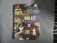 "DVD NEUF ""EARTH WIND AND & FIRE : LIVE"" concert 1994 Japan"