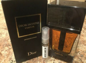 Dior Homme Parfum EDP 5MLGlass Decant 2016 Vintage Sample