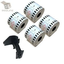 6 Rolls DK-2205 Brother-Compatible (Continuous) Labels [BPA FREE] + 1 Cartridge