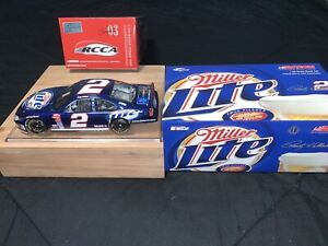 2003 Rusty Wallace Miller Lite Intrepid 1:24 Action RCCA CWB 999 Of Only 1200