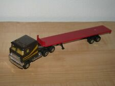 Ertl Trucks of the World Ford CL-9000 COE Cabover and Flatbed Trailer 1:64