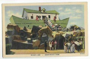 VINTAGE KENNYWOOD PARK- NOAH'S ARK-PITTSBURGH,PA -CT 1943