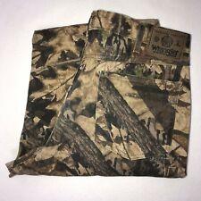 Wrangler Camouflage Straight Leg Jeans 36 31