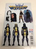 Marvel Comics All New Wolverine # 001 Comic Book Free Shipping Variant Edition