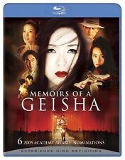 MEMOIRS OF A GEISHA -  Blu Ray - Sealed Region free