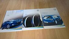 Car brochures x3 Mazda 3 2004 - Brochure, Specs and Price List