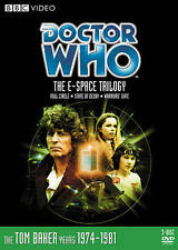 Doctor Who - The E-Space Trilogy Dvd 4th Doctor Tom Baker Bbc