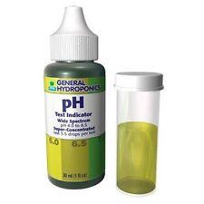 General Hydroponics pH Test Kit Drops - Testing for Hydroponics and Liquids