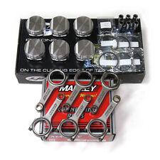 CP Pistons Manley H-Beam Rods FOR Nissan RB25DET SC7307 86.0/8.5 Skyline GTS-T