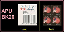 US 4855 Star-Spangled Banner forever label block (from APU booklet) MNH 2014