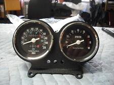 NEW Harley FXR Sportster tach speedo + mount 67047-83 KMPH MPH NOS gauges 02052
