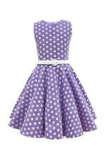 BlackButterfly Kids 'Audrey' Vintage Polka Dot 50's Girls Dress