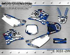 Yamaha TTR 125 2000 up to 2007 graphics decals kit Moto StyleMX