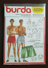 Burda-5229 Shorts Sewing Pattern Sizes 36-38-40-42-44-46 Uncut
