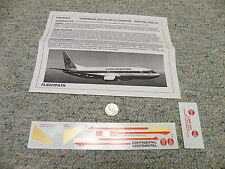 Flight Path decals 1/200 FP20-105 Continental Old Colors 737-100/200/300   Box 9