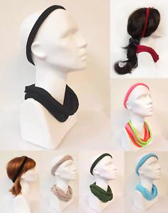 Haarband 6er Set Kettenschal Schlauchschal Schlauch Loopschal Loop Muster Kette