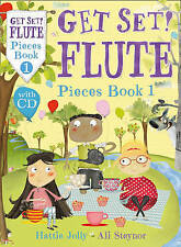 Get Set! Flute Pieces Book 1 with CD, Ali Steynor, Hattie Jolly, New Book