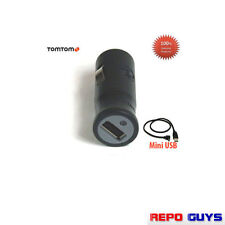 100% Genuine TomTom USB Car Charger Mini USB Cables Output 5V Go/Live/Via/One