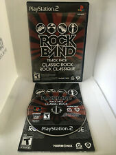 Rock Band Track Pack Classic Rock - Complete CIB - Playstation 2 PS2