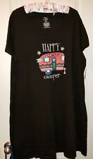 NEW! NWT LARGE-XL HAPPY CAMPER NIGHTGOWN RV CAMPING TRAVEL PAJAMAS