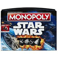 Hasbro Monopoly Star Wars Property Trading Game Gameboard Ship Tokens B8613