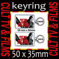 THE WALKING DEAD - CULT TV - KEYRING- KEY CHAIN - KEY RING- 35mm X 50mm #3