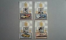 1998 Upper Deck Maxx 10th Anniversary Lot of 4 Champions Past NASCAR Inserts