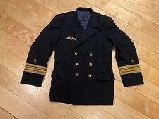 Original Bundeswehr Marine Uniform Jacke Kapitän Fregattenkapitän Größe 44 TOP