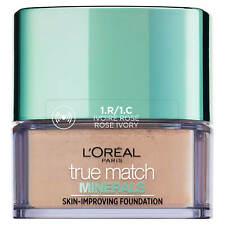 3x L'Oreal True Match Minerals Foundation Mattifying Powder 1R/1C ROSE IVORY