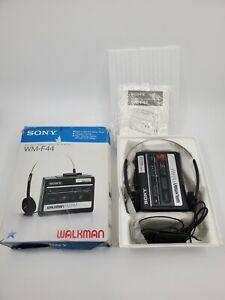 New Vintage Sony Walkman WM-F44 Open Box