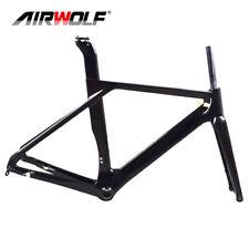 Cuadro tija de Sillín Marco de bicicleta De Carbono Airwolf Tenedor Marcos Disco 700C 49-56cm