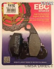 Kawasaki ZX10R (2004 to 2010) EBC Kevlar REAR Brake Pads (FA192) (1 Set)