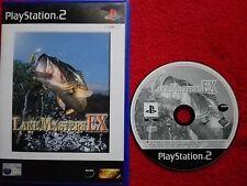 Lake masters ex original black label sony playstation 2 PS2 pal