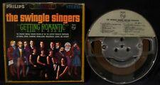 THE SWINGLE SINGERS-Getting Romantic-Reel To Reel Tape-PHILIPS-7 1/2 ips