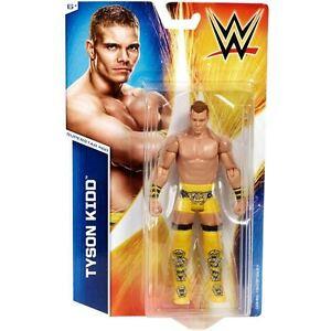 WWE TYSON KIDD KID BASIC NEW SERIES 54 MATTEL #60 ACTION WRESTLING ACTION FIGURE