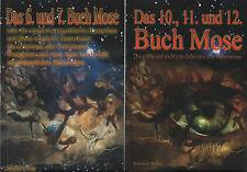 DAS 6. bis 12. BUCH MOSE - Bohmeier Verlag - 3 x BUCH SET - NEU