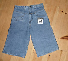 "Ghetto Gear Denim Shorts size 32 with 14"" inseam Made in CA USA NEW w Tags (020)"