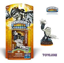 Skylanders Giants TERRAFIN SHARK Individual Character Pack Game Play Toy Figure