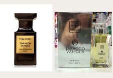 Profumo Ispirato A Tabacco Vanille Tom Ford Tabacco E Vanilla 100 Ml Persistente